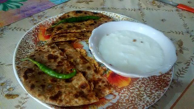 Sattu Paratha